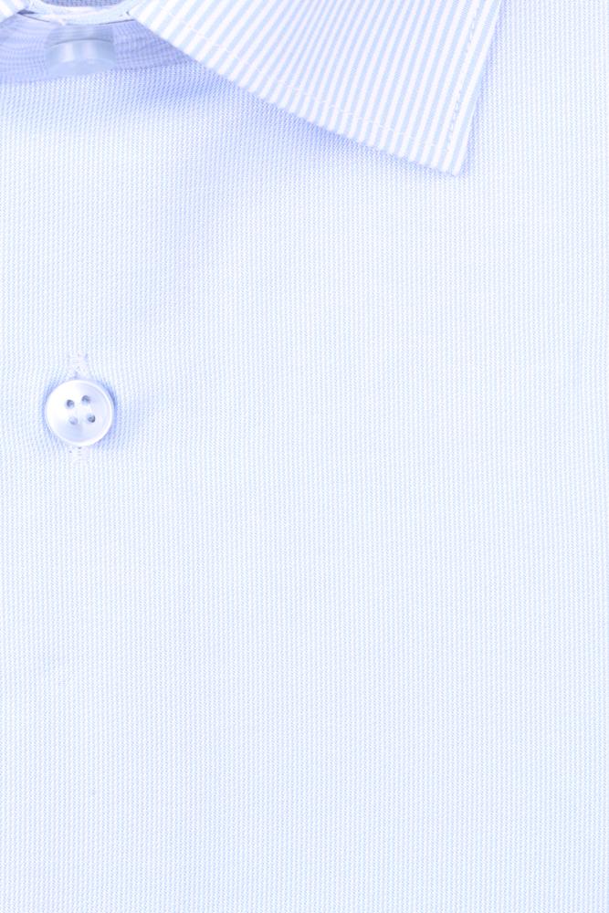 Рубашка мужская классика в полоску, длинный рукав (Арт. T 4663)