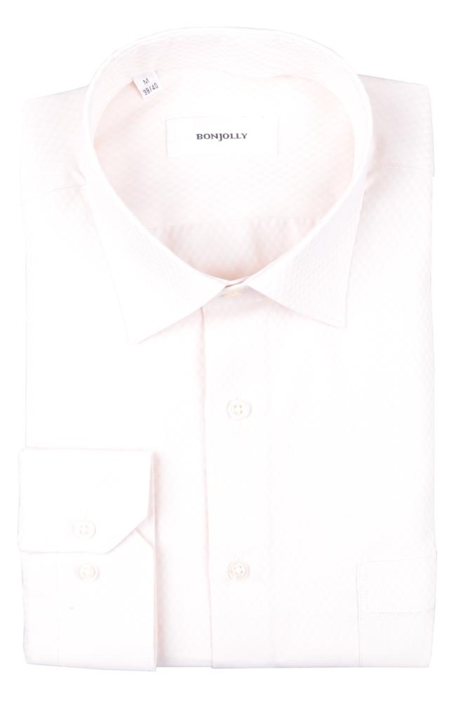 Рубашка мужская классика в клетку, длинный рукав (Арт. T 4684)