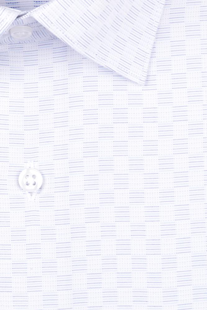 Рубашка мужская классика в клетку, длинный рукав (Арт. T 4693)