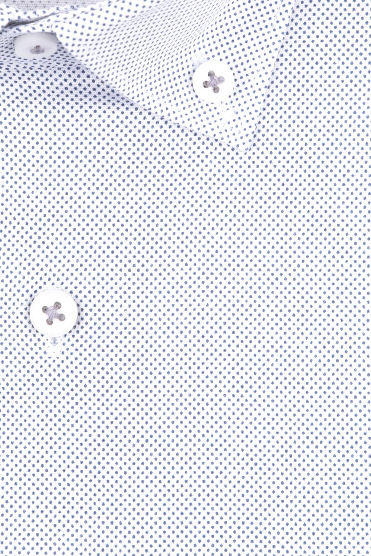Рубашка мужская классика в мелкий рисунок, длинный рукав (Арт. T 4721)