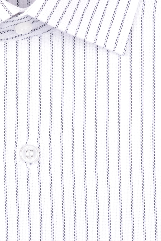 Рубашка мужская классика в полоску, длинный рукав (Арт. T 4729)