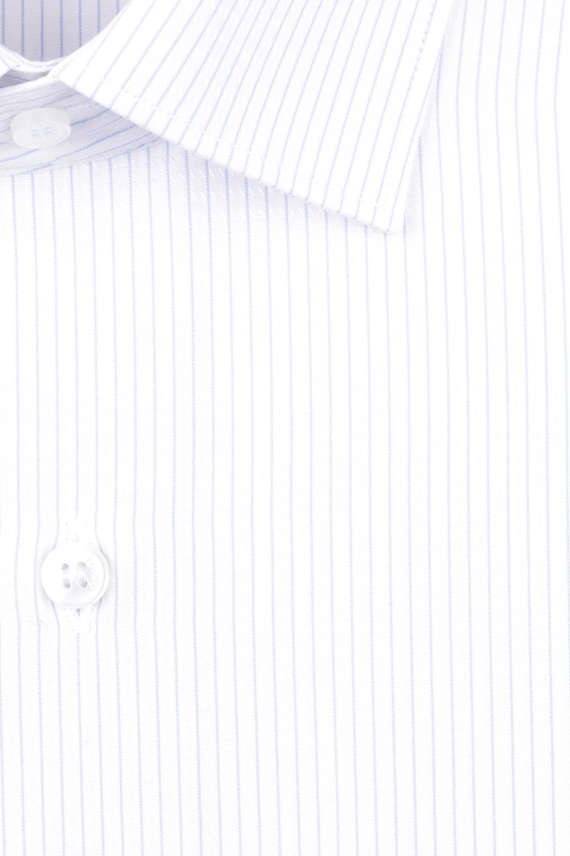 Рубашка мужская классика в полоску, длинный рукав (Арт. T 4733)