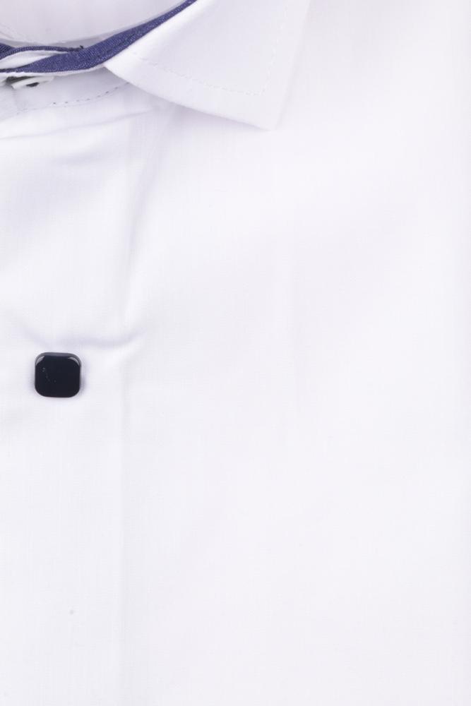 Детская однотонная рубашка, длинный рукав (Арт. TB 4834)