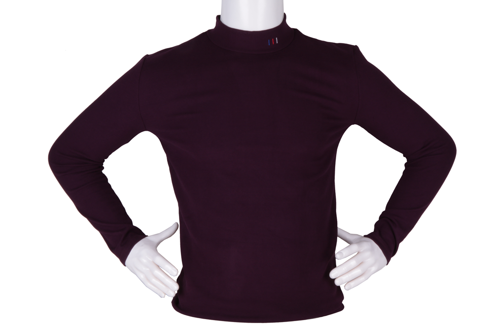 Мужской гольф фиолетового цвета (Арт. GOL 4860)