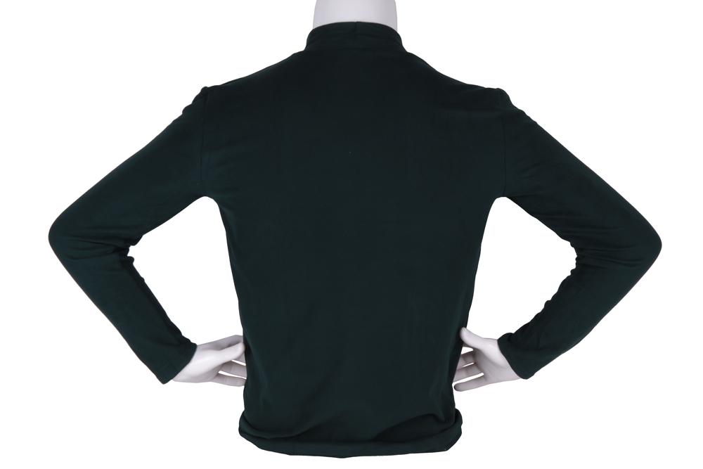 Мужской гольф зелёного цвета (Арт. GOL 4861)