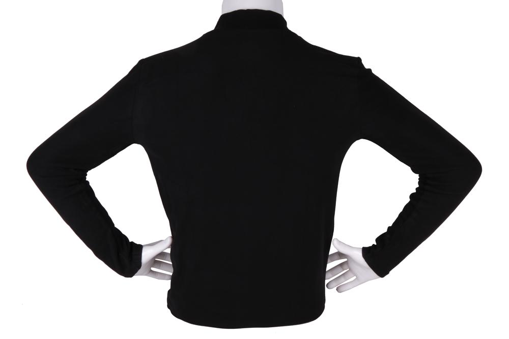 Мужской гольф чёрного цвета (Арт. GOL 4862)