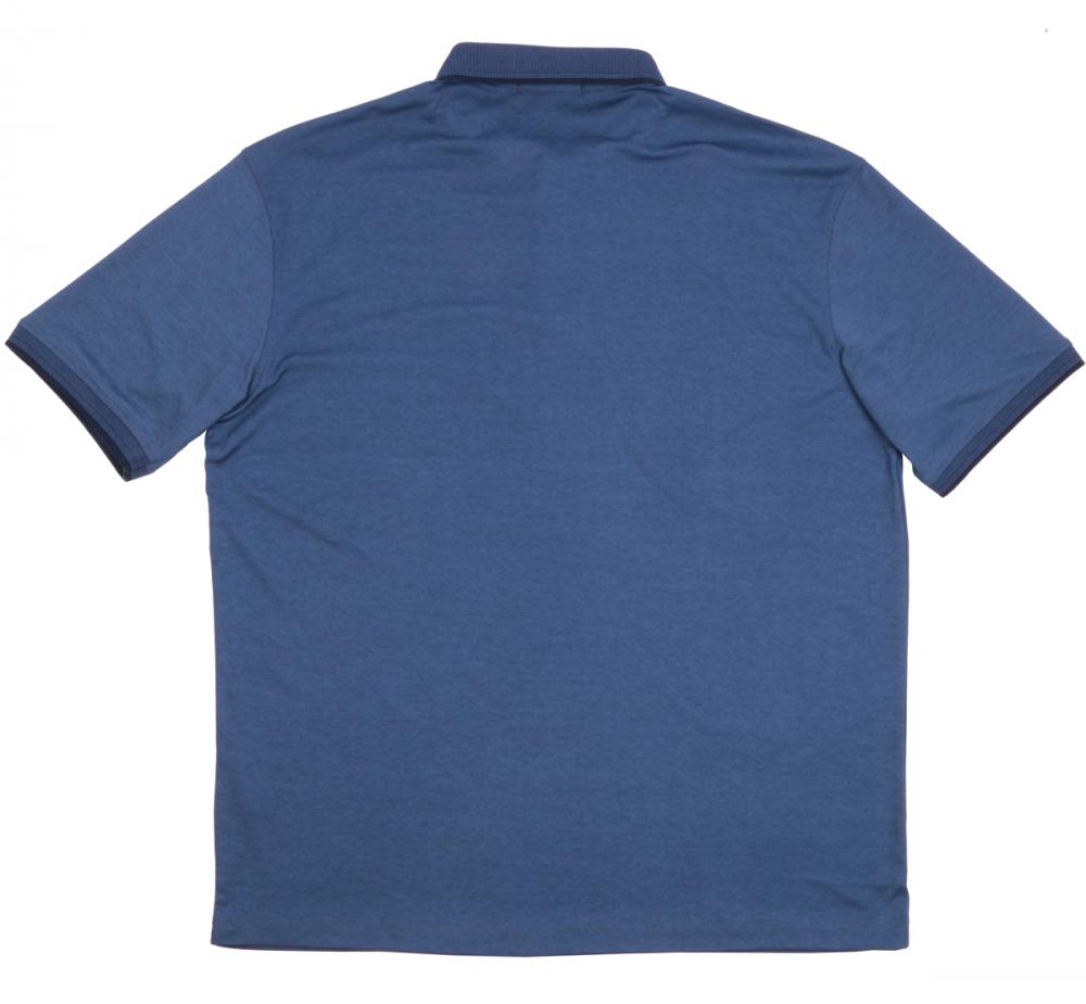 Футболка поло синяя комбинированная (Арт. PO5060B)